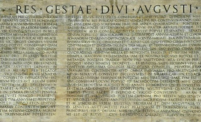 Res gestae divi augusti traduzione 28 images sulleormediaugusto home 11 2010 il censimento - Res gestae divi augusti traduzione ...
